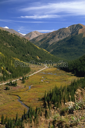 view from independence pass colorado united