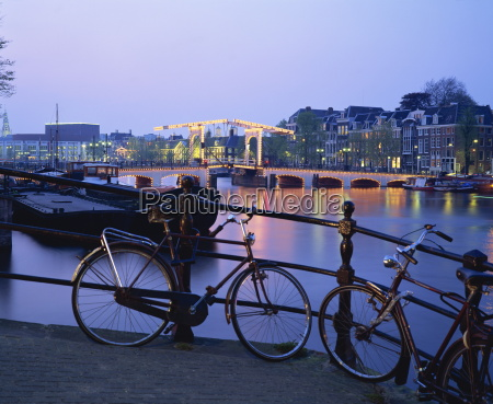 bicycles by the side of the