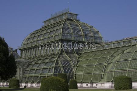 palm house schonbrunn palace gardens unesco