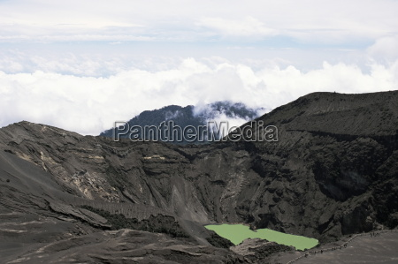 third crater from the summit of