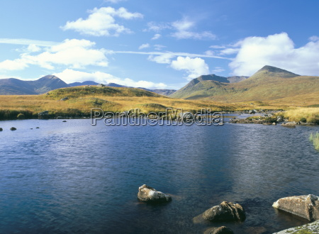 loch ba and the black mountains