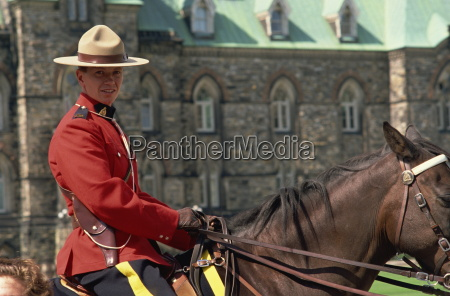 royal canadian mounted policeman ottawa canada
