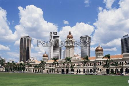 paseo viaje color asia malasia horizontalmente