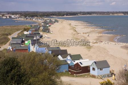 mudeford spit or sandbank christchurch harbour