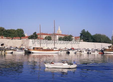 zadar dalmatian coast croatia europe