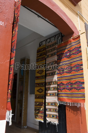 local weaving oaxaca city oaxaca mexico