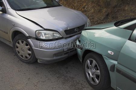 car crash spain europe