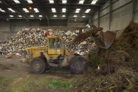 waste disposal depot england united kingdom