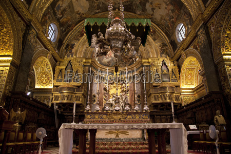 high altar st johns cocathedral valletta
