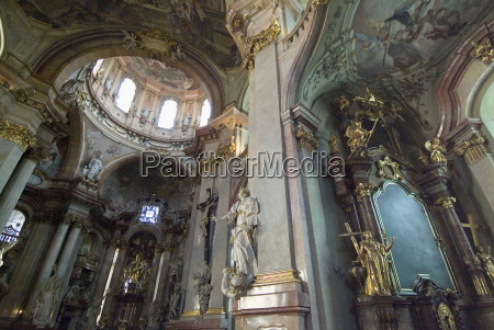 interior of st nicholas church mala