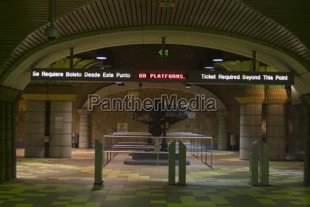 hollywood and vine station metro underground