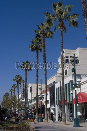 third street promenade santa monica california