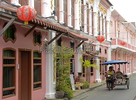 turn of the century chinese shophouses