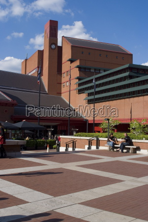 the british library london nw1 england