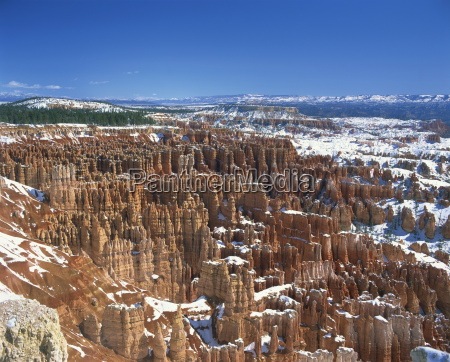 pinnacles and rock formations known as