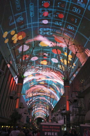 fremont street light and sound show