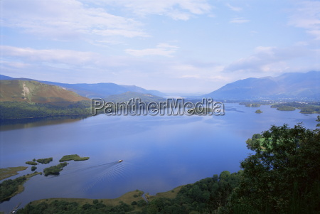 keswick and derwent water from surprise
