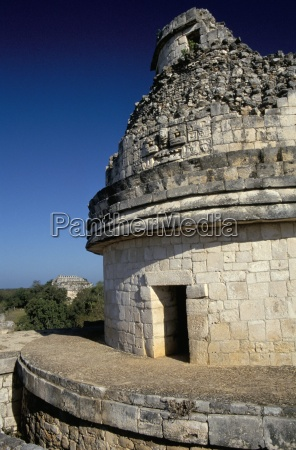 el caracol mayan observatory where windwos