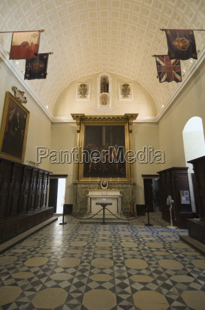 interior of st johns co cathedral