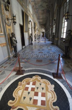 mosaic in corridor grand masters palace