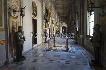 highly decorated interior corridor grand masters