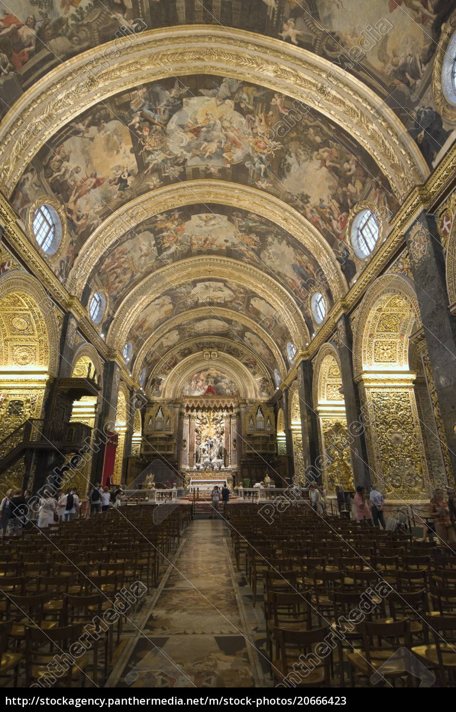 interior, of, st., johns, co-cathedral, , valletta, - 20666423