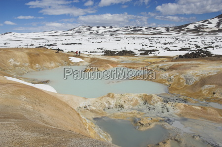 leirhnjukur, thermal, area, and, eruption, site, - 20666843