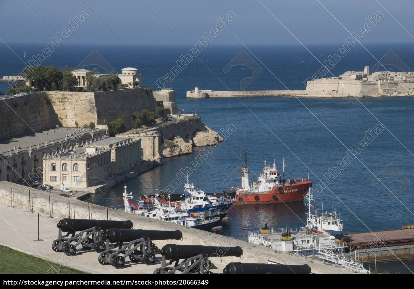 view, of, the, grand, harbour, from - 20666349