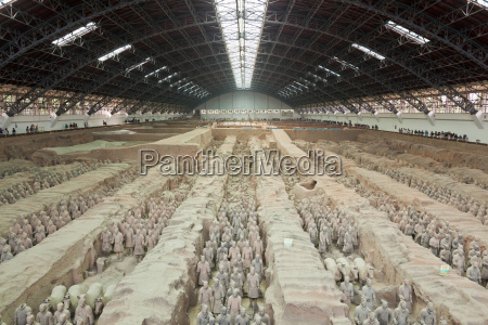 terracotta warriors army pit number 1