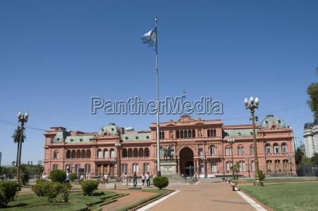 casa rosada presidential palace where eva