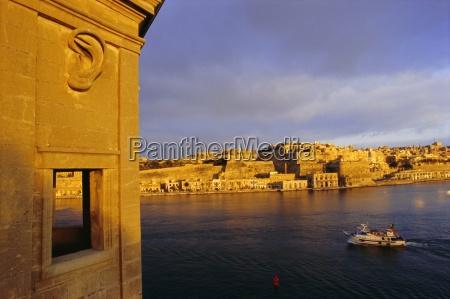 grand harbour valetta valletta from senglea