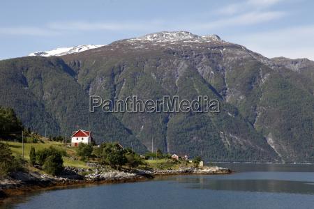 sognefjorden near fodness sogn og fjordane