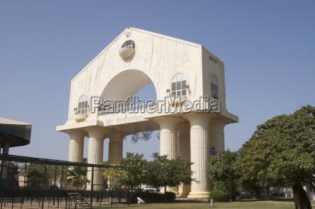 arch 22 banjul gambia west africa