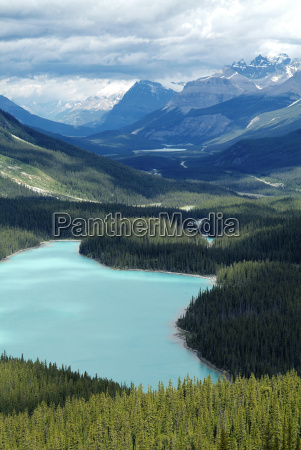 peyto lake banff national park unesco