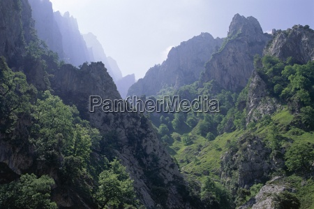 peaks and high valleys on the