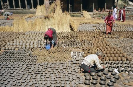 potters quarter bhaktapur bhadgaun kathmandu valley