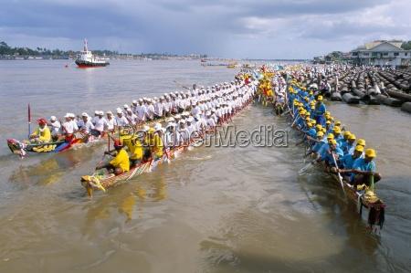 water festival phnom penh cambodia indochina