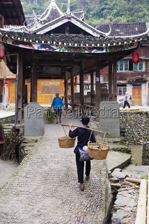 dong village of zhaoxing guizhou province
