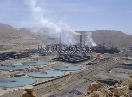 chiquicamata coppermine atacama desert chile south