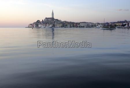 rovinj istria adriatic coast croatia europe