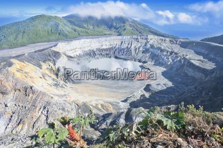 poas volcano poas volcano national park