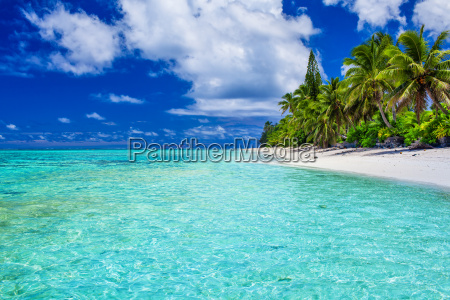 amazing beach with white sand and