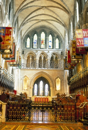 the choir and banners st patricks