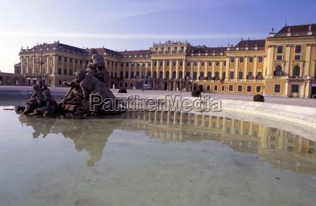 exterior of the schloss schonbrunn schonbrunn