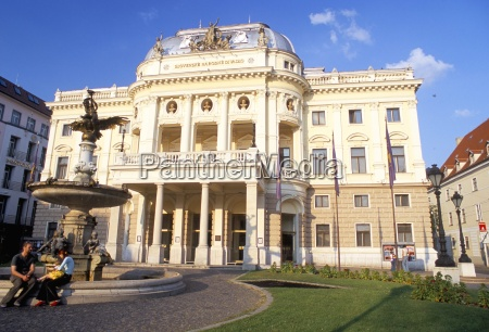 neo baroque slovak national theatre now