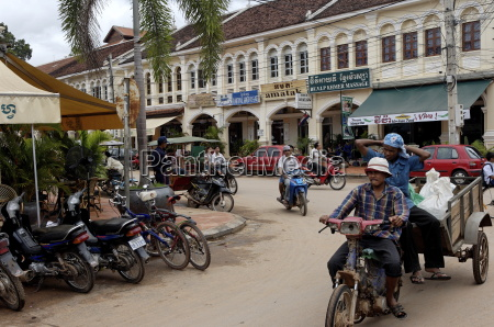 town of siem reap cambodia indochina