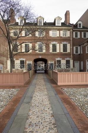 franklin court philadelphia pennsylvania united states