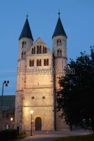 romanesque church of kloster cloister unser