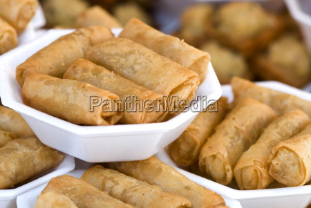 spring rolls chatuchak weekend market bangkok