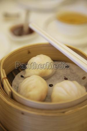 shanghaiese dumplings at maxims dim sum